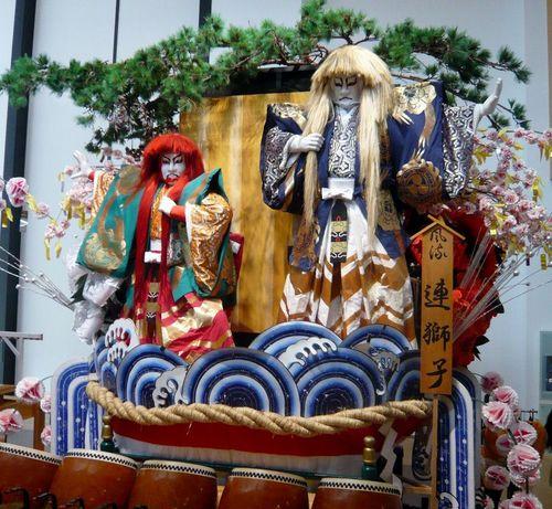 盛岡八幡宮祭り 山車