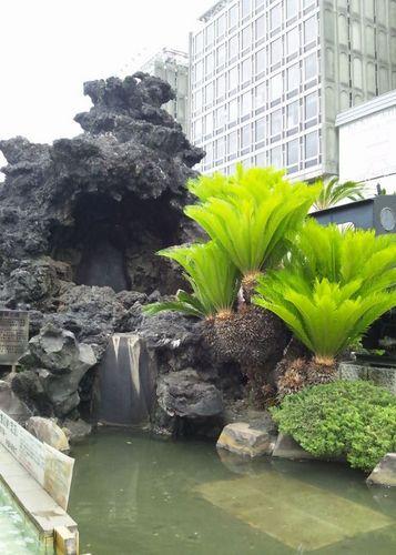 熱海駅前間歇泉
