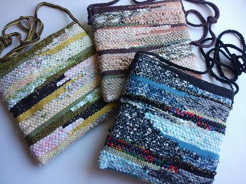 手織りポシェット