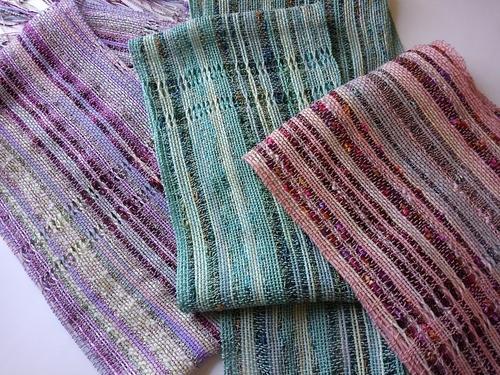 手織りストール